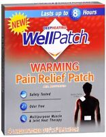 Wellpatch Warming Pain Relief Patch 4 Each (pack Of 6) on sale