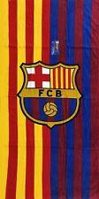 FC Barcelona La Liga Logo Beach Towel 30x60 - Stripes