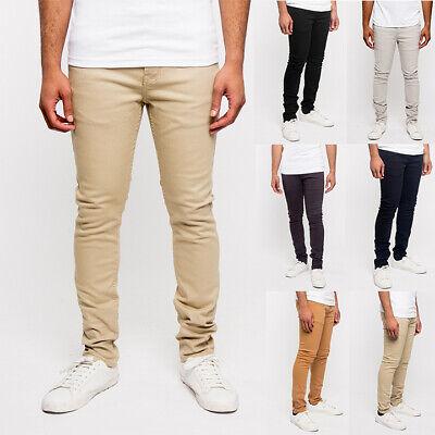 Victorious Men/'s Spandex Color Skinny Jeans Stretch Colored Pants   DL937-PART-3