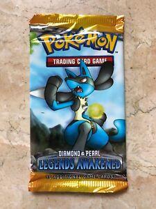 Sealed Blister Booster Pack Pokemon Diamond /& Pearl Legends Awakened