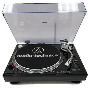 audio technica at lp120 usb direct drive pro stereo turntable usb analog black ebay. Black Bedroom Furniture Sets. Home Design Ideas