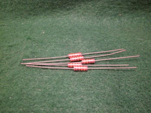 1 5 Pack Carbon Comp 39 OHM 2 Watt 5/% Resistors NOS