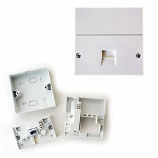 BT Master NTE5A Single Telephone Socket - IDC Terminals - Wall Outlet Face Plate