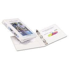 11 x 8-1//2 1.5-Inch Cap Round Rings Avery 17590 FlipBack 360 Binder White 1//EA