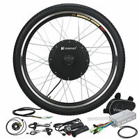 1000w Electric E Bike Conversion Kit 26 Front Wheel Motor Bicycle Hub 48v