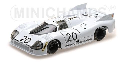 MINICHAMPS 180716920-Porsche 917 20 – Kauhsen Van Lennep – 3 H LE MANS 1971 L