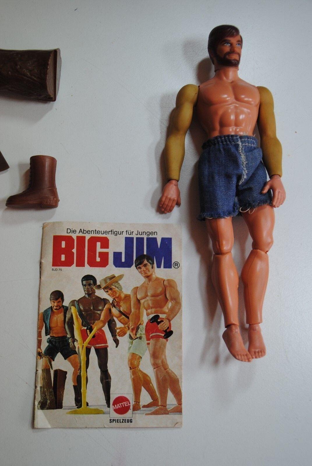 Big jim mattel  big josh  gerade hand figur, nizza