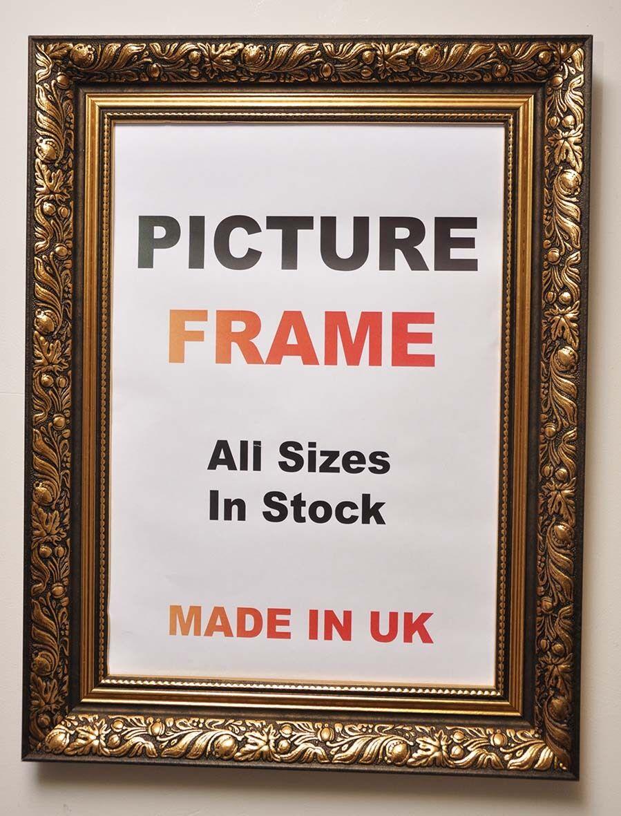 Antique Gold cadre photo 60 mm cadres large, de grands cadres mm   7f25ed