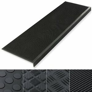 Rubber Outdoor Stair Treads Anti Non Slip Heavy Duty Step