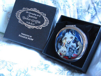 Nemesis Now Sign Of Our Parting Goth Skull Trinket Box Jasmine Becket-Griffith