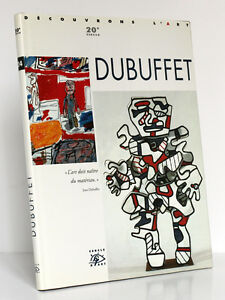 Dubuffet-1901-1985-Collection-034-Decouvrons-l-039-art-XXe-siecle-034-Cercle-d-039-Art-1996