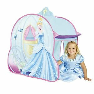 Image is loading DISNEY-PRINCESS-CINDERELLA-CARRIAGE-ROLE-PLAY-TENT-KIDS-  sc 1 st  eBay & DISNEY PRINCESS CINDERELLA CARRIAGE ROLE PLAY TENT KIDS GIRLS | eBay
