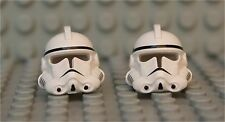 LEGO® White Helmet from EP 3 Clone Trooper  X 2 - from 7655 - Episode 3