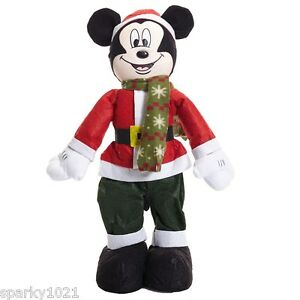 image is loading disney mickey mouse christmas decoration standing doll 22