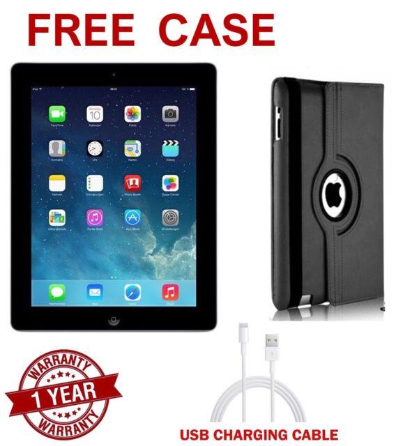 Apple iPad 2nd Gen 16GB, Wi-Fi - 9.7in - 12 MONTHS WARRANTY - GOOD CONDITION (*)