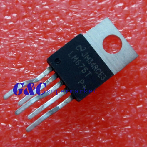 10PCS LM675T NS TO-220 Power Operational Amplifier NEW GOOD QUALITY T59