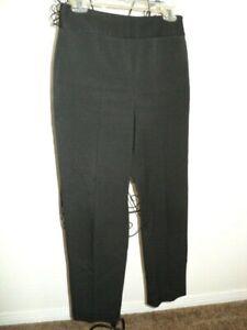 Women-039-s-Black-Stretch-Pants-from-Talbots-Petites-Sz-6-Trouser-Slacks