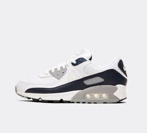 air max 90 gris azul