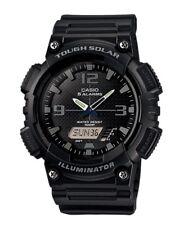 Casio Watch * AQS810W-1A2 Tough Solar Illuminator Black Resin