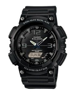 Casio-Watch-AQS810W-1A2-Tough-Solar-Illuminator-Black-Resin-COD-PayPal