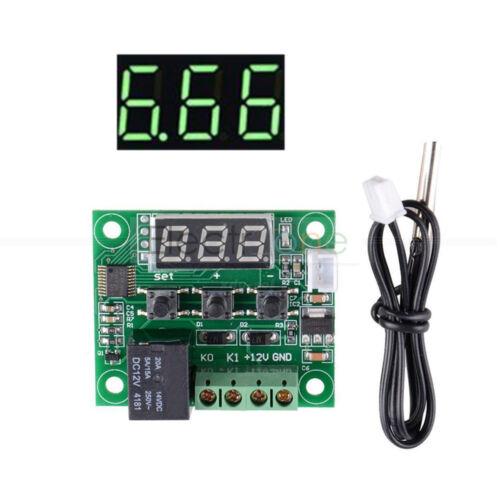 50-110°C DC 12V W1209 LED Digital thermostat Temperature Control Switch Sensor