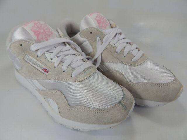 d7277d7156 Reebok Classics Size US 9 M (B) EU 40 Women's Running Shoes White Cream