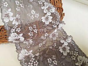 """Sewing//Lingerie Pretty 2/""""//5cm Skin-tone// Nude Stretch Flat Lace Trim x 5 Metres"""