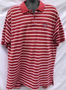 4dbff945f Vintage 90s Polo Sport Ralph Lauren Red White Striped Polo Shirt ...