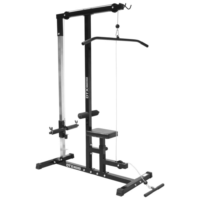 DTX Fitness Home Multi Gym Cable/Lat Pull Down Workstation Weight/Bench Workout