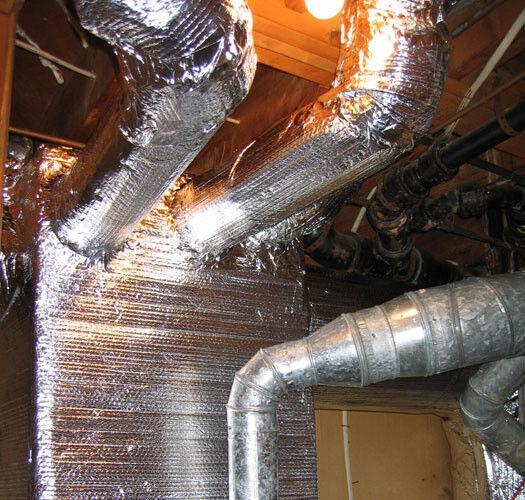4ft x 25ft Reflective Foam Core Jacuzzi Floor Underlayment Concrete Insulation