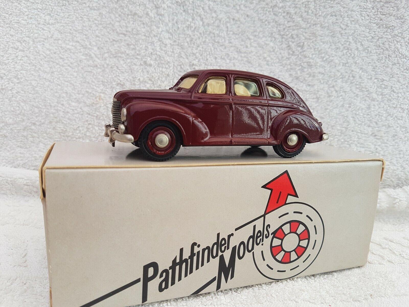 100% a estrenar con calidad original. Pathfinder Modelos Modelos Modelos 1 43 escala PFM4 Jowett Javelin 1949 en marrón  muy popular