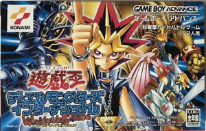 Game Boy Advance • Konami Yu-Gi-Oh! Worldwide Edition YUGIOH JAP ITA MULTILINGUA