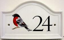 Ciuffolotto Numero Di Porta Di Casa Placca Ciuffolotto Uccellino