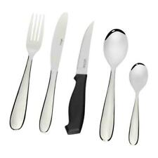 WILTSHIRE 50 Piece Stainless Steel BRONTE 50pc Cutlery Set W/ Steak Knives