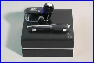 Carbon-Fiber-amp-925-Sterling-SILBER-Montblanc-MEISTERSTUCK-Fueller-146-OB-LeGrand