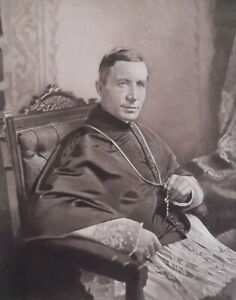 CARDINAL-GIBBONS-Prelate-Archbishop-of-Baltimore-Portrait-1889-Antique-Print