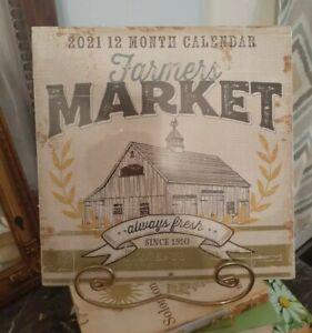 2021 Farmers Market Calendar (Dollar Tree)RED TRUCK ...