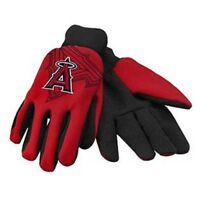 Anaheim Angels Red Raised Team Logo Licensed MLB Sport Utility Gloves-Brand New!