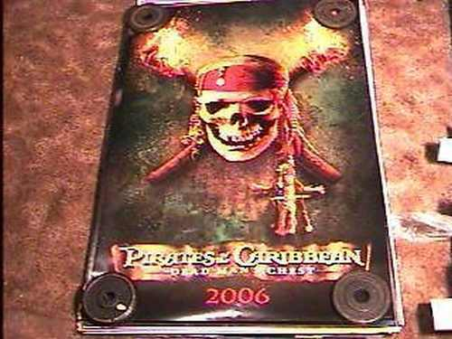 PIRATES OF CARIBBEAN II ADV 27X40 MOVIE POSTER DS