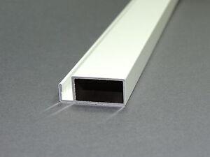 ersatzprofil f fliegengitter fenster insektenschutz alu profil 11x25mm weiss ebay