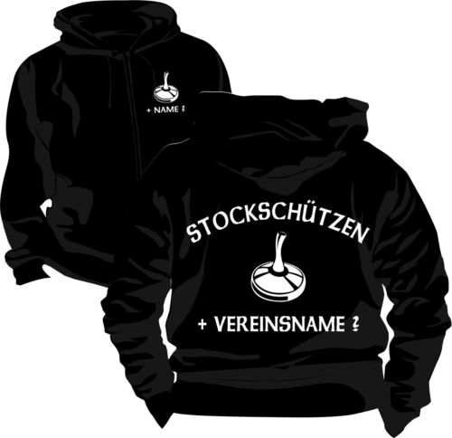 Stockschiessen étage protéger Veste Sweatjacke veste pull sweat shirt 7