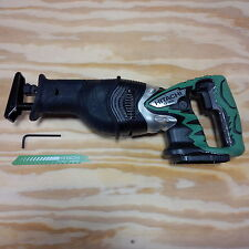 New Hitachi CR18DL Cordless 18 Volt Reciprocating Saw 18V W/ Blade Sawzaw