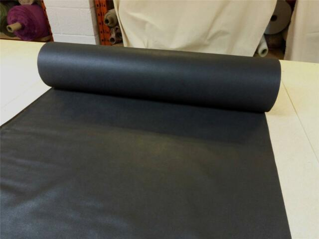 """BLACK  39"""" wide - Upholstery Base Cloth / Corovin / Dipryl / Lining Fabric"""