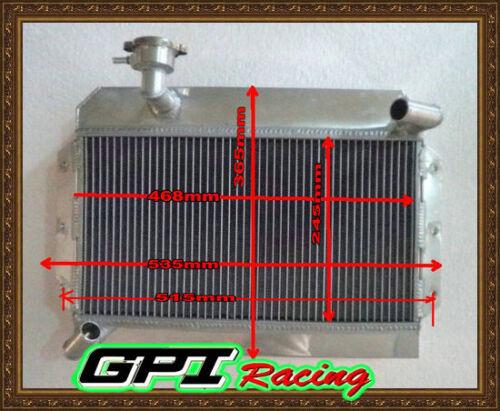 1622 1600 Aluminum Alloy Radiator for ROVER MG MGA 1500 DE LUXE 1955-1962 56