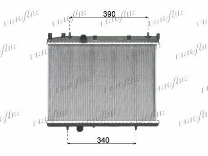 AC 04/> Radiateur PEUGEOT 206 1.6 HDI MT //