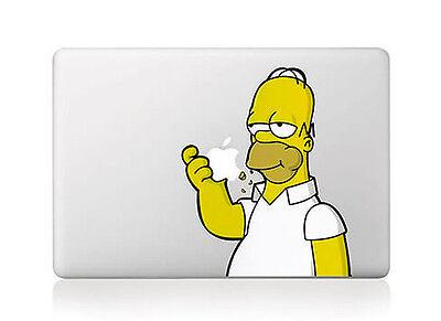 "Eating Apple Macbook Air/Pro 15"" Vinyl Sticker Skin Decal Cover"