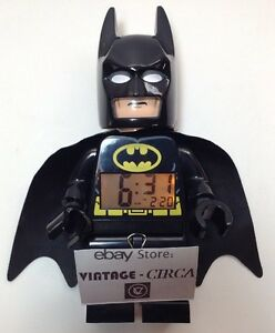 Brilliant Details About Lego Large Batman Alarm Clock Digital Super Hero Kids Bedroom Decor Cute Cool Download Free Architecture Designs Rallybritishbridgeorg