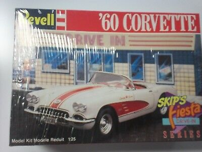 Revell 1/25 Scale Model...'60 Corvette.. Fiesta Drive In Series...nib...new At All Costs Classic Toys & Hobbies