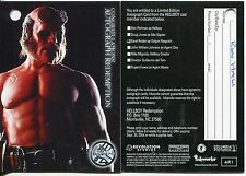 Hellboy The Movie Autograph Redemption Card AR1 [A3] Redeemed [Marked]