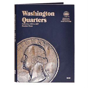 Whitman-Coin-Folder-9040-Washington-Quarter-3-1965-1987